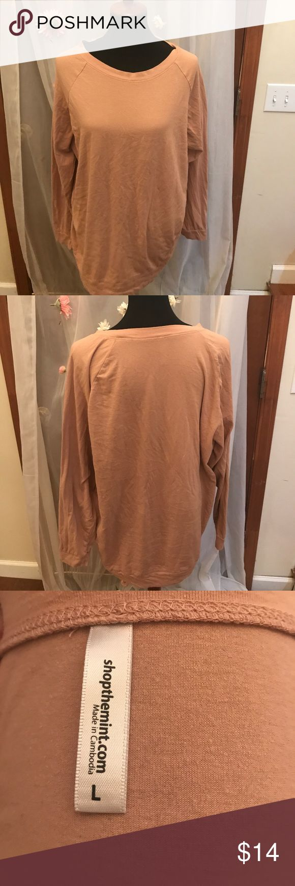 Mint Julep Boutique Slouchy Dolman Tunic Great lightweight long sleeve tunic! Slouchy fit. Great with leggings! Only worn a handful of times, good condition. shopthemint.com Tops Tunics