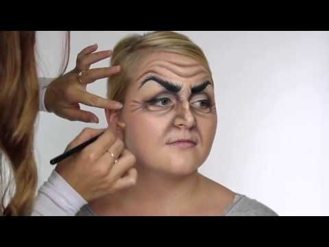 Makeup halloween opplæringen Disney-Inspirert Heks MakeUp For Halloween - YouTube