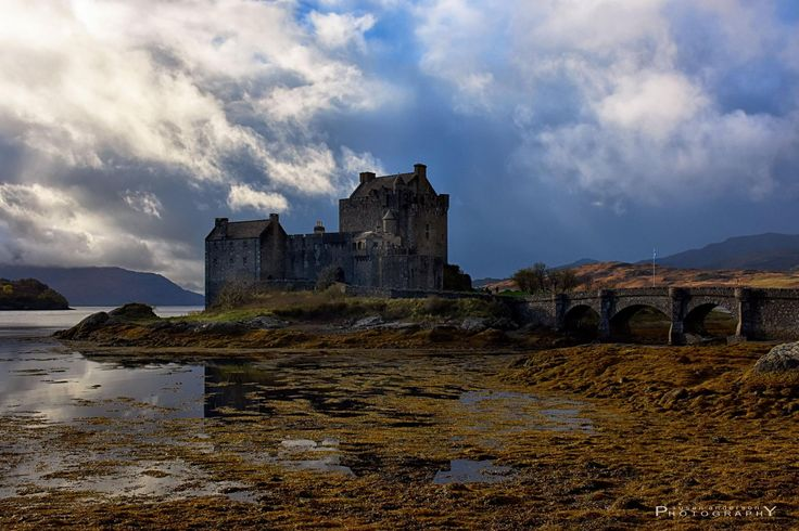 Weather changing above Eilean Donan Castle