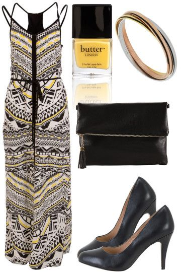 Slice Of Lemon Outfit includes Butter London, Siren, and LOUENHIDE - Birdsnest Online Clothing Store
