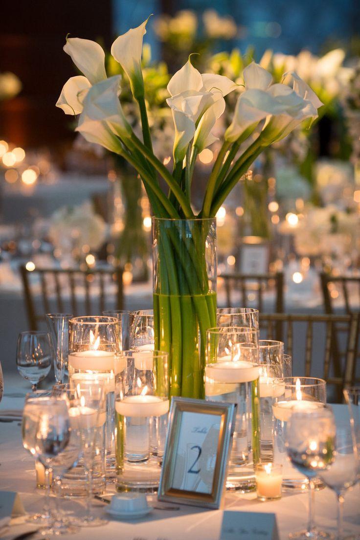 Modern Elegant Philadelphia Performing Arts Center Wedding Flower Centerpieces Wedding Wedding Decor Elegant Cheap Wedding Table Centerpieces
