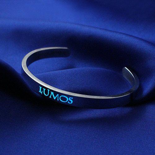 Glow in the Dark Spell Lumos Bracelet by Gadget4Entertainment