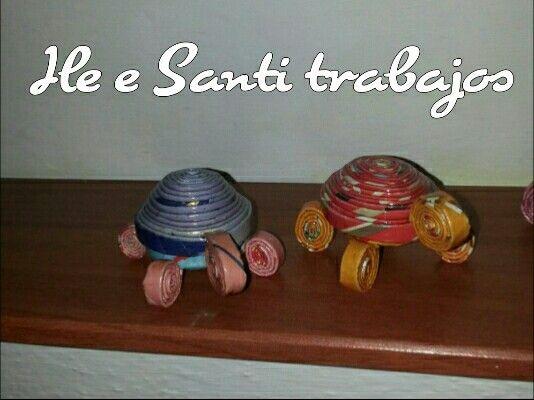 Tartarughine colorate by Santino Cossu e Ilenia Pintus