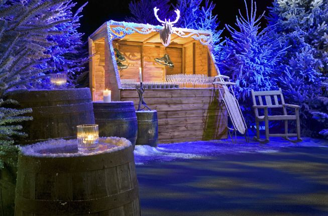 ski lodge themed party - Google Search