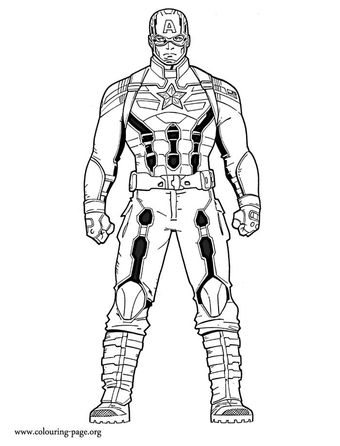 What about coloring the captain america just print and have fun with this captain america