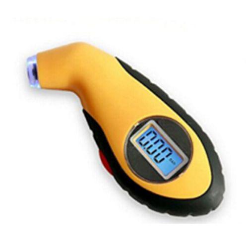 JFBL Hot 1x Yellow+black Digital tire instrument, DIY portable tire pressure gauge, home car liquid crystal display pressure t