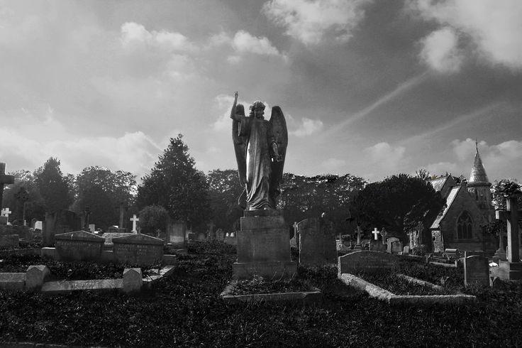 Cemetery Black & White photography