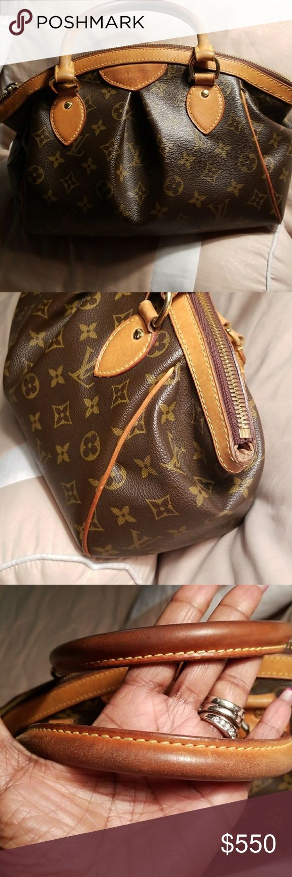 Pm trivilo bag Honey patina in excellent condition,only trading for another Louis vuition selective trades only.trade price higher.100%authentic threw posh(tag number is V11028)hard to get picture its in the pocket.this bag is gorgeous($850) Louis Vuitton Bags Satchels