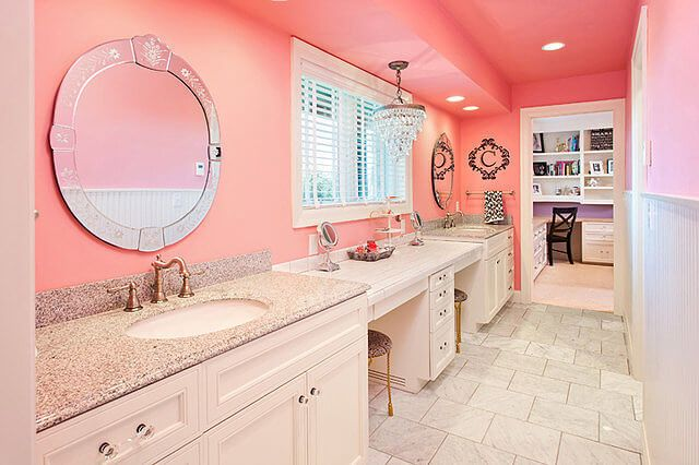 Bathroom Ideas 51 Pink Bathrooms Design Ideas Girl Bathrooms