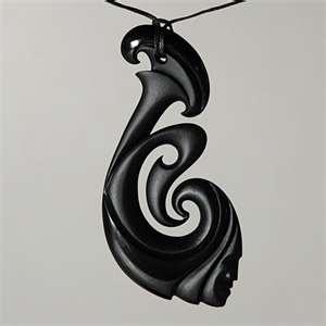 Maori bone pendant