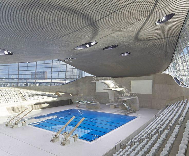 London aquatics centre - Londres, Reino Unido / Zaha Hadid