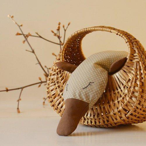 Heating pillow - platypus / Nahřívací polštářek - ptakopysk