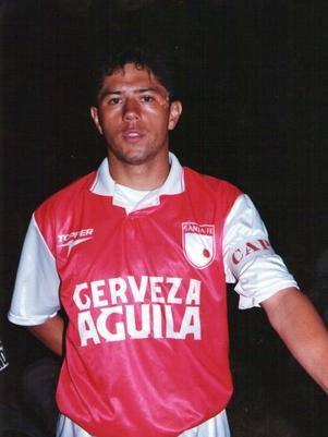 Wilson Gutierrez cuando era jugador de SANTA FE (Foto) ►►►