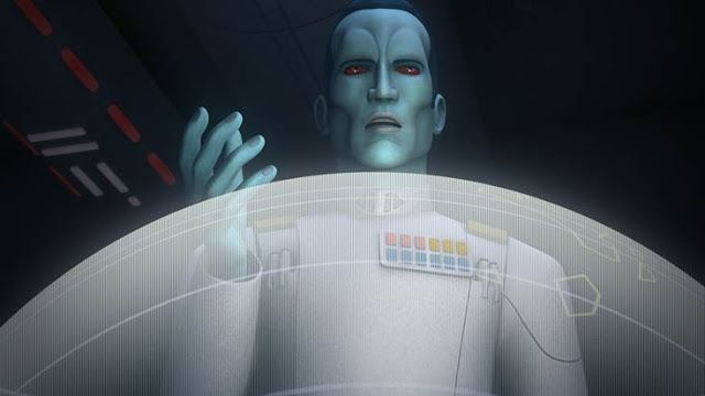 New 'Rebels' Clip Features Return of Grand Admiral Thrawn