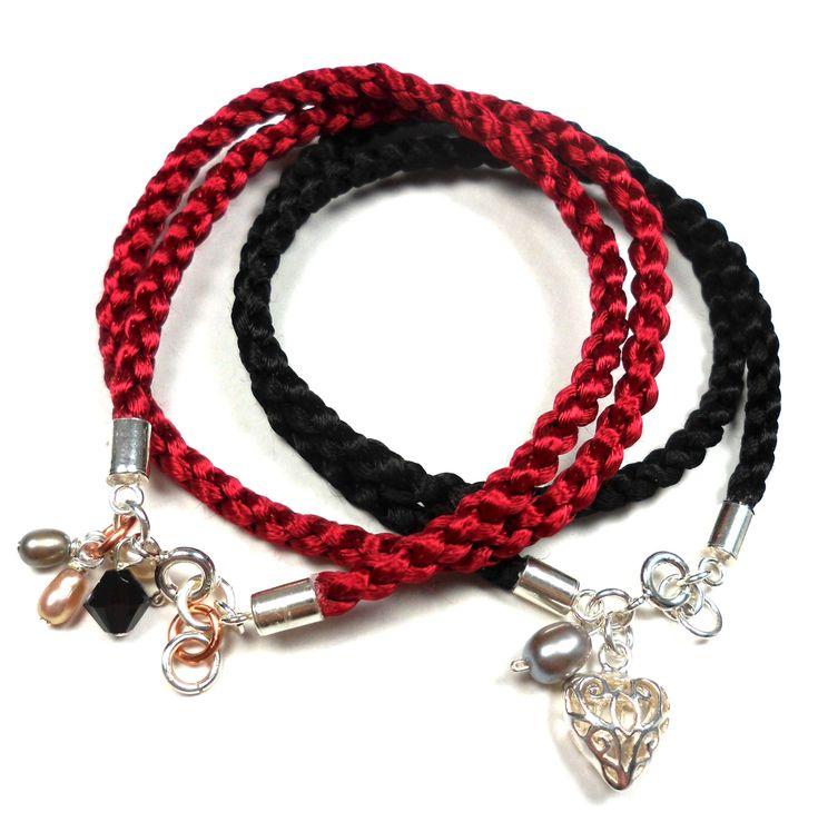 LIFE OF LINUZ: Tutorial: Make your own wrap-around bracelet!