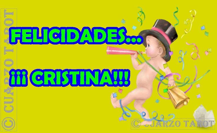 BUENOS DÍAS Y FELIZ DOMINGO, EN ESPECIAL FELICIDADES, SI TE LLAMAS CRISTINA.  #FelizDomingo #Cristinas