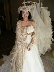 妖精の様な花嫁さんになりました – ブライダルヘアメイク