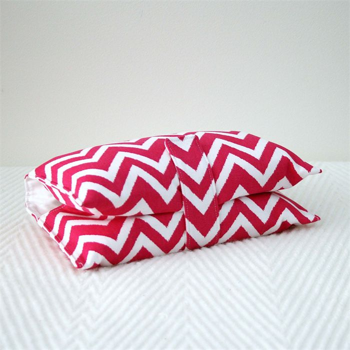 Nappy Wallet - Hot Pink Chevron