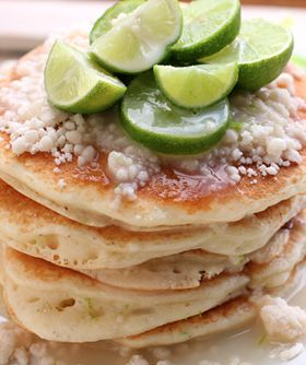 Key Lime Pancakes Recipe ~ they are going to knock your socks off!