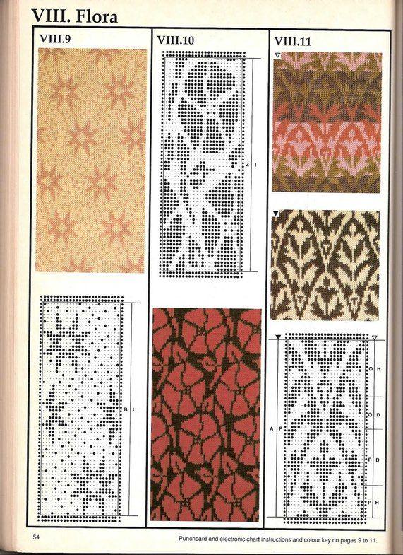 Машинное вязание - жаккард Машинное вязание - жаккард #53
