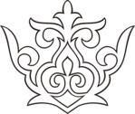 Мобильный LiveInternet Казахский орнамент. шаблоны . из 2 сегментов   ЕлеНик - Ник...ляндия  