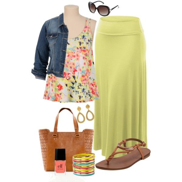 Plus Size, created by kerimcd on Polyvore