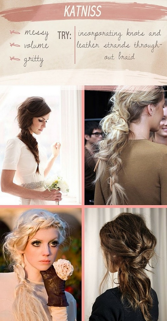 Hairstyles Games Magnificent 8 Best Hunger Games Hairjoico Images On Pinterest  The Hunger