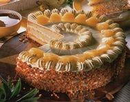 Ananasový dort s griliášovým krémem