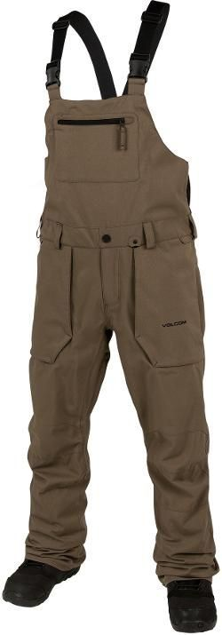 VOLCOM Men's Roan Overall Bib Snow Pants