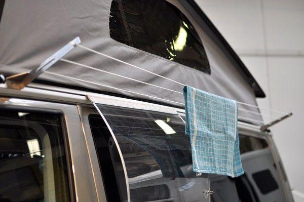 Waslijn voor toprail - Diversen - Camper exterieur