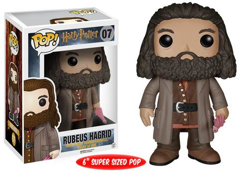 Pop! Movies: Harry Potter - Rubeus Hagrid   Funko