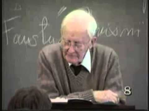 Lecture 5 from Hugh Nibley's Pearl of Great Price Lectures Series at Brigham Young University, Winter Semester, 1986.