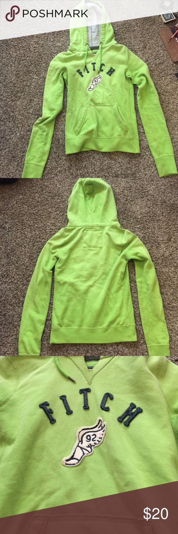 Abercrombie and fitch jacket This is a size small. No snags or stains. Abercrombie and fitch hoodie. Green and navy blue. Brand new condition. Abercrombie & Fitch Jackets & Coats