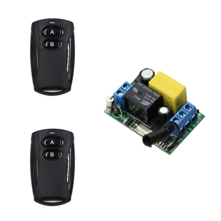 11.41$  Watch now - http://alip2u.shopchina.info/1/go.php?t=32812661003 - Best Price Offer for AC 220V 10A 1 Channel Wireless Electric Garage Door Window Remote Control Receiver & Black Transmitter   #bestbuy