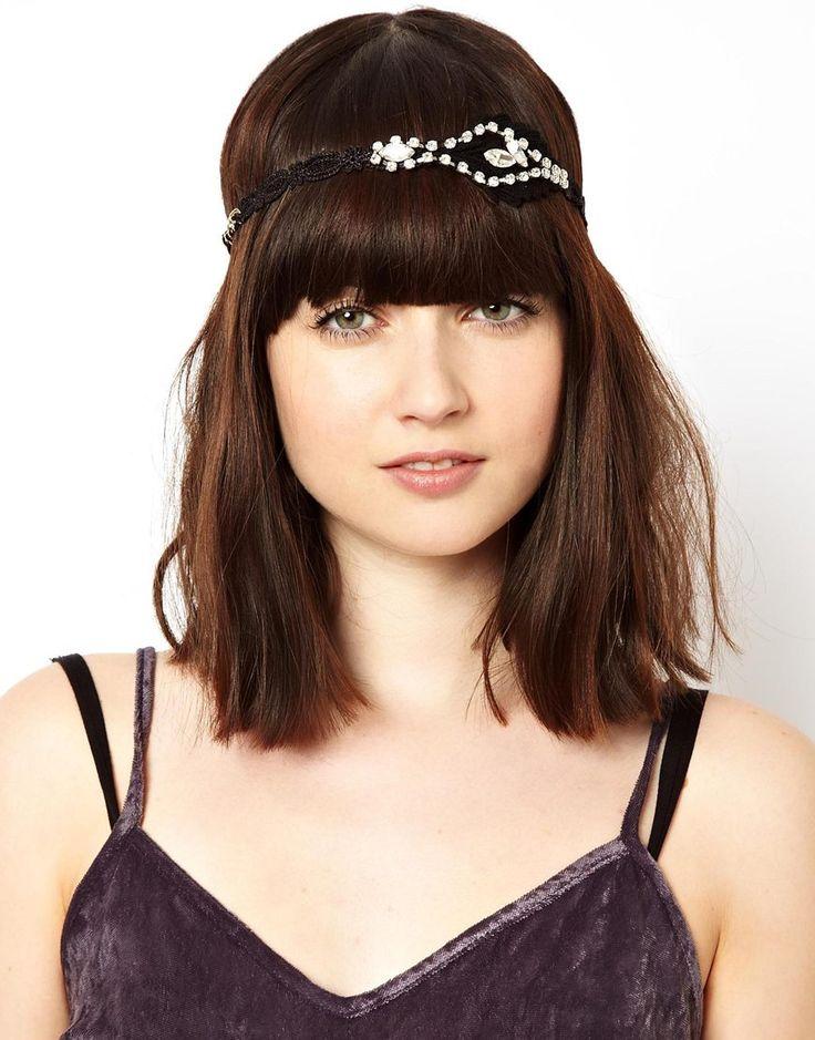 Bild 1 von ASOS – Flapper – Gehäkeltes Haarband