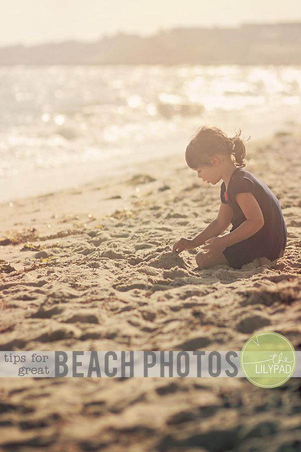 The Lilypad Just Beachy: Tips for Great Beach Photos - The Lilypad