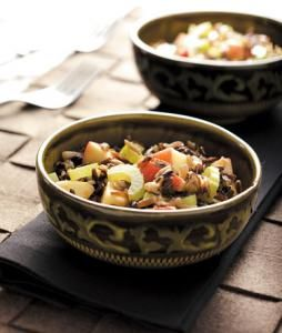 Wild Rice Apple Salad | Grains, Pasta, Rice and Beans | Pinterest
