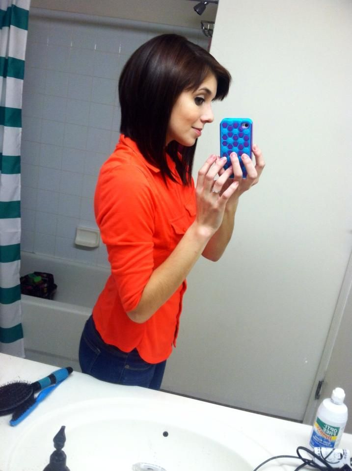 My long angled bob :)