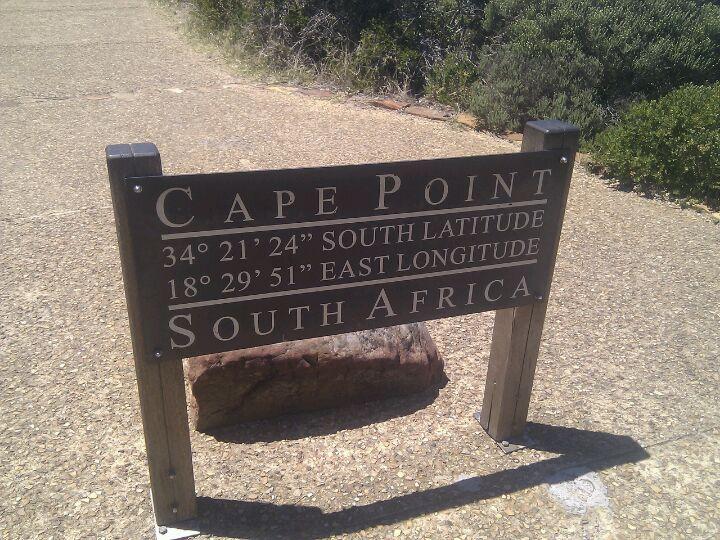 Cape Point in iKapa, Western Cape