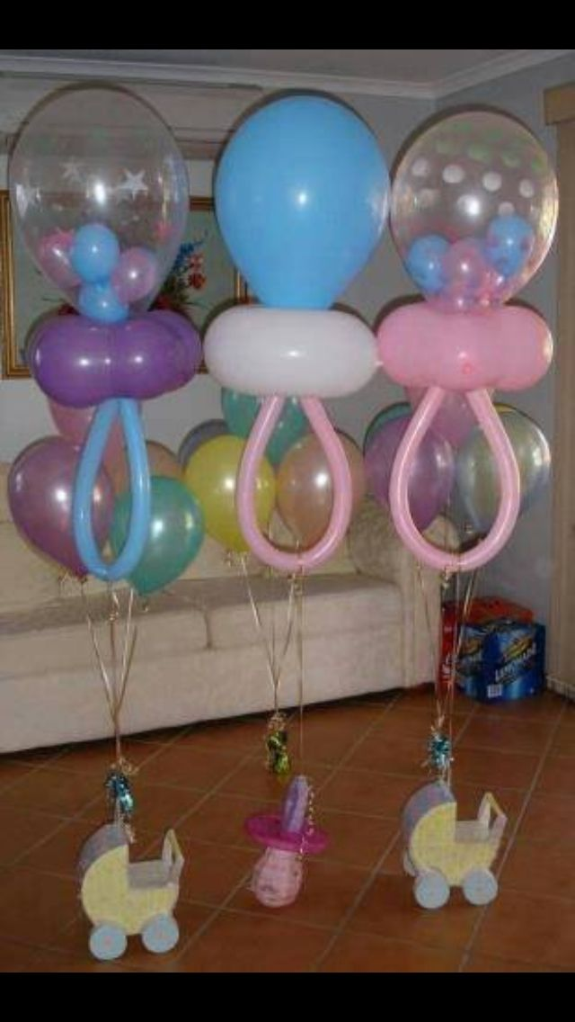 13 Best Baby Shower Images On Pinterest Baby Shower Balloons