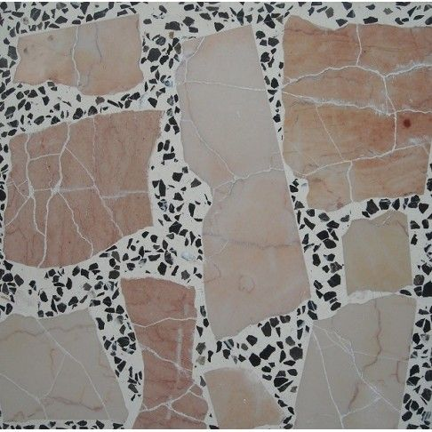 Terrazzo Tile made of marble and granite chips from Persiana Stone.