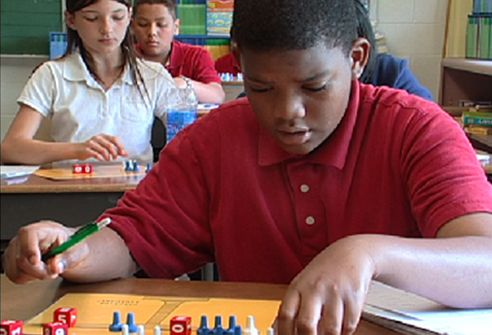 """What is the secret to the success of the program? """"In a matter of minutes I can have any 8-year old solve algebraic equations that many 9th graders cannot solve, """" says Borenson."""