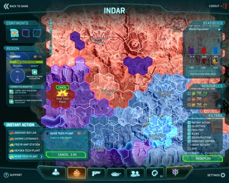 Continents - PlanetSide 2 Wiki Guide - IGN
