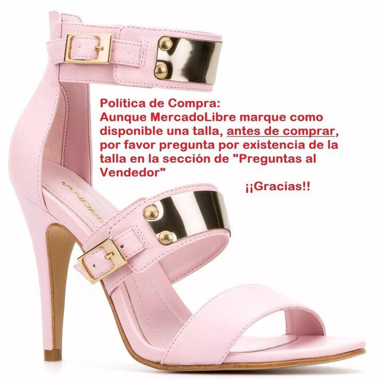 zapatillas andrea rosa plaquita dorada metalica 1609