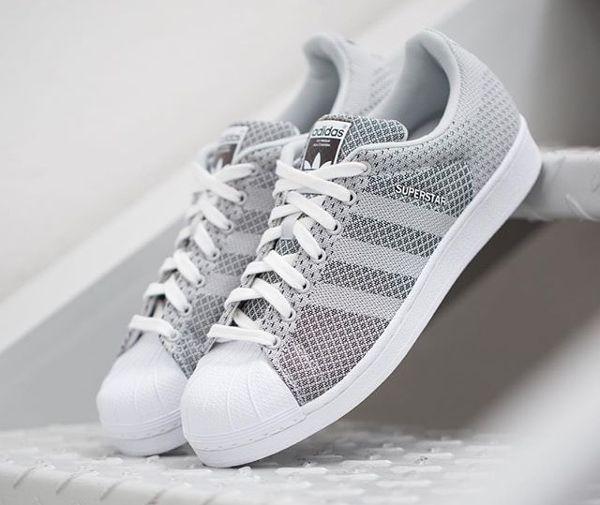 Adidas Superstar Weave Grey White (2)