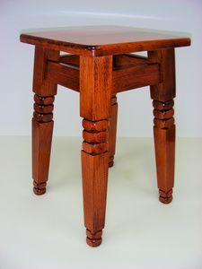 TABORET Drewniany Podtaczany  + GRATIS Świeczniki - zdjęcie 1 aukcji