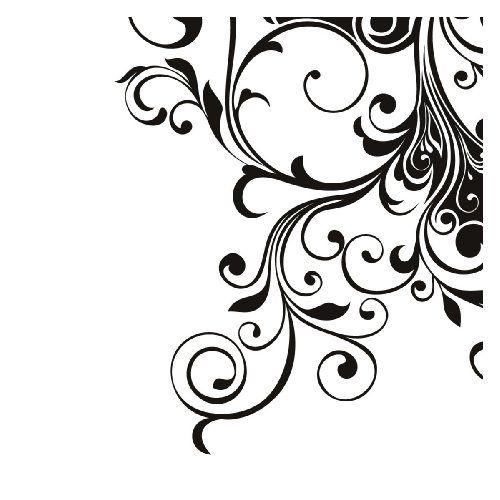 Decorazione floreale angolo parete parete arte adesivi adesivo 02 - Altezza 50 centimetri - 50 centimetri Larghezza - vinile nero GetitStickit http://www.amazon.it/dp/B00IH57GY8/ref=cm_sw_r_pi_dp_op1Tub07K1EG4