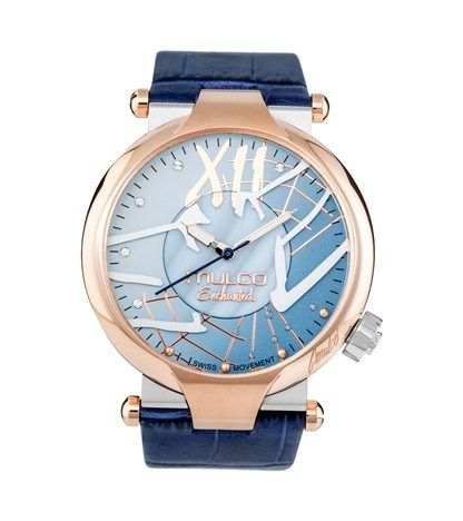 SWK Collections - Mulco Watch Enchanted Spider Blue, $375.00 (http://www.swkcollections.com/watches/mulco-watch-enchanted-spider-blue/)