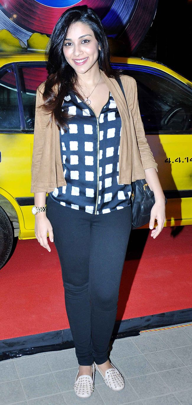 Amrita Puri at the screening of 'Captain America: The Winter Soldier'. #Style #Bollywood #Fashion #Beauty
