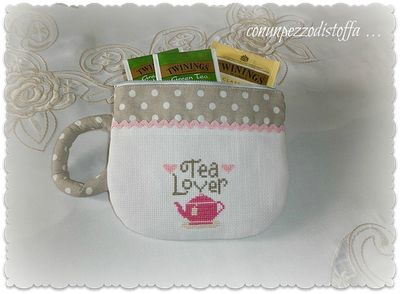 teacup coin purse (no chart. There's a separate pin with instructions for sewing the purse here on my cross stitch board)